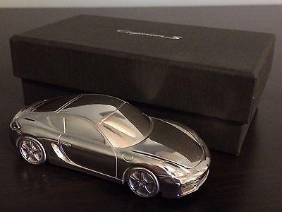 2014 PORSCHE Cayman S Billet Aluminum Body Limited Edition Model Paperweight