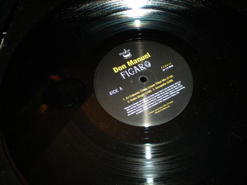Don Manuel Figaro VINYL accapella DJ Cubanito Andy Sikorski Monster Taxi mixes