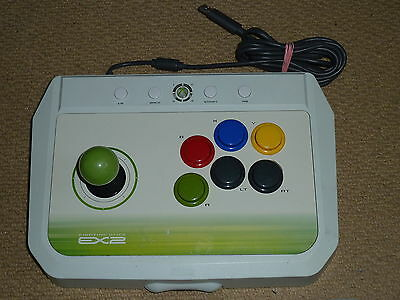 Hori Fighting Stick 360 - MICROSOFT XBOX 360 HORI EX2 FIGHTING STICK USB JOYSTICK JOY FIGHT ARCADE - White