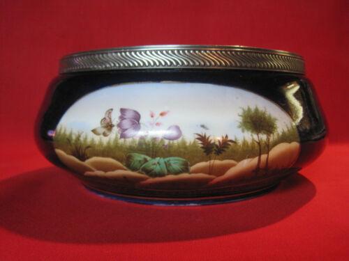 Antique Art Nouveau Aesthetic Movement porcelain bowl, Swain & Co Germany