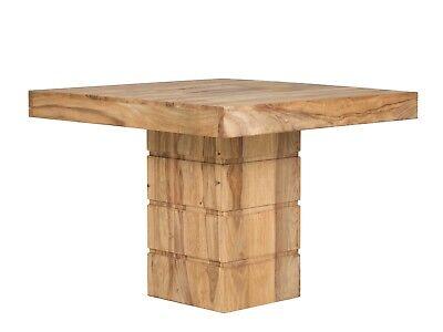 Esstisch Tisch 100x100 Palisander braun Möbel Esszimmer Tische NEU MOTALA ()