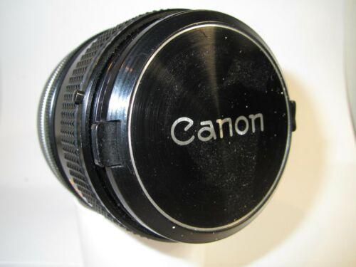 Canon FD 50mm f/1.4 S.S.C Fast prime lens for 35mm SLR cameras Breech lock