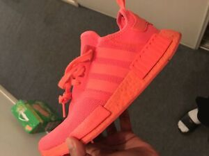 RED ADIDAS NMD's NEED GONE BY THURSDAY