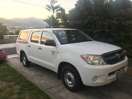 2007 Toyota Hilux Workmate Dual Cab pick-up with canopy & hilux dual cab canopy | Gumtree Australia Free Local Classifieds