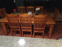 9 Piece Dining Suite Warnbro Rockingham Area Preview
