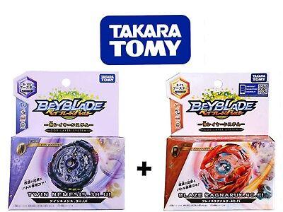 Beyblade Hell Kerbecs Vs Basalt Horogium TAKARA Tomy Authentic B99 B104