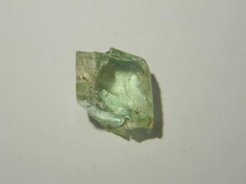 Facet Rough Hiddenite Old Collection 32.40 cts Brazil Good Shape
