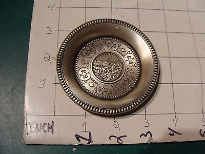 original Vintage souvenir Metal dish: LUXEMBOURG