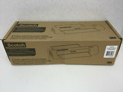 Scotch Thermal Laminator 2 Roller System For A Professional Finish Tl901x Sealed