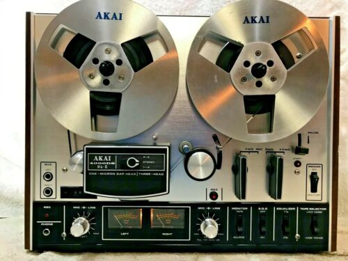 AKAI 4000DS MKII  STEREO TAPE DECK REEL TO REEL # 141  -  EXCELLENT - SEE VIDEO