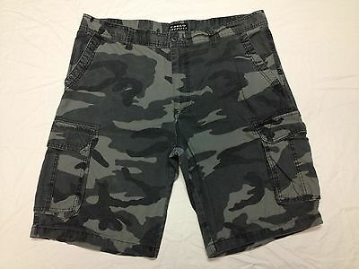 CARGO SUPPLIES CAMO CARGO SHORTS HAND MEASURED 41W Tag 40 BEST