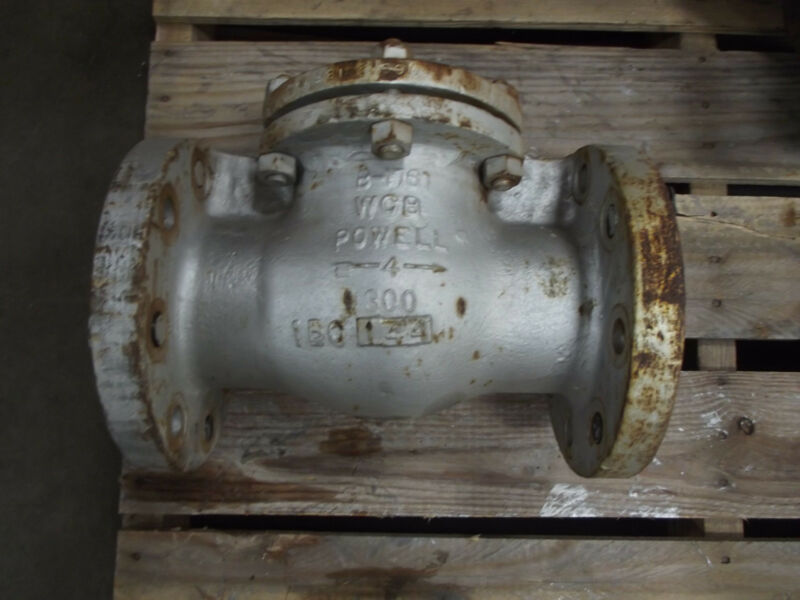 Powell Gate Valve Size 4""
