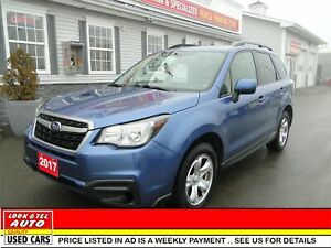2017 Subaru Forester you're approved $85.13 a week tax inc. i