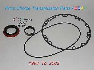 Pump Reseal Kit With Teflon Bushing  Fits All 93 03 Gm 4L60e 4L65e Transmissions