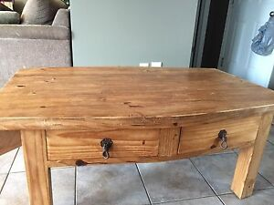 Santa Fe Rusticos Solid Pine Coffee Table
