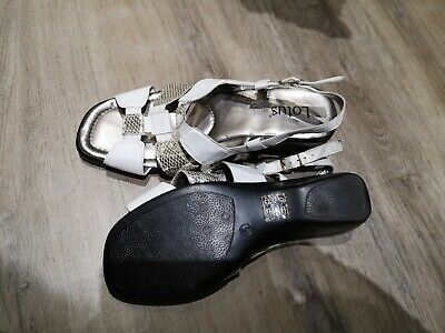 Lotus Ladies Sandals Size 5 Worn Once