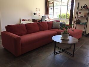 Large, very comfortable 6 seater lounge with huge chaise Corinda Brisbane South West Preview