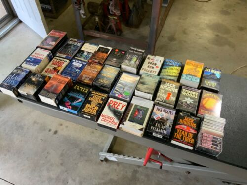 Lot of 31 Mostly Unabridged Books on Cassette