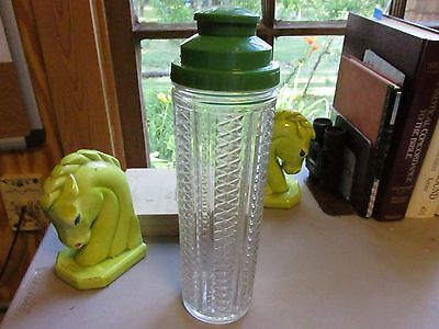 Vintage Medco NY Glass Cocktail Shaker