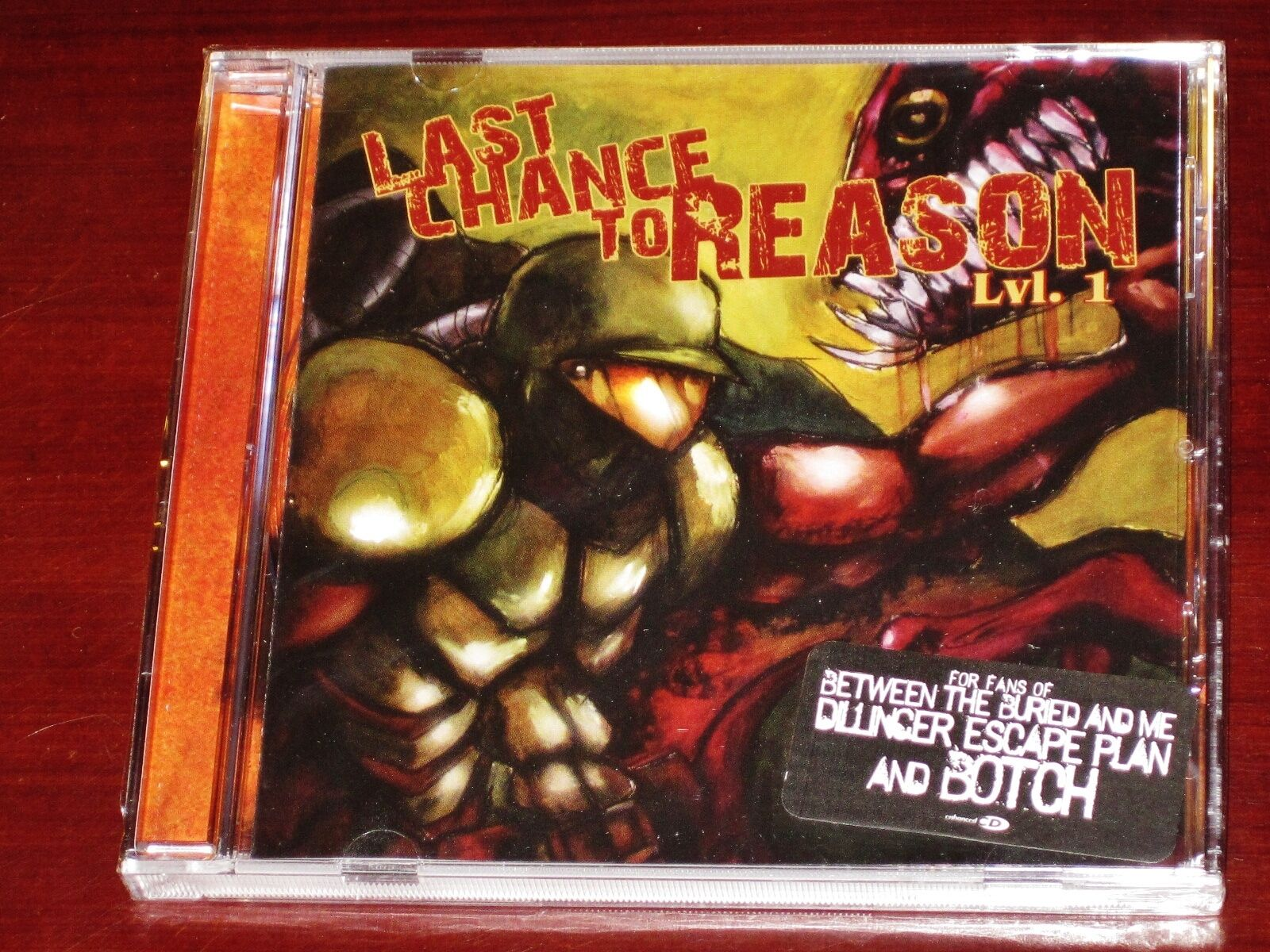 Last Chance To Reason: Lvl. 1 CD ECD 2007 Level One Tribunal Records TRB090 NEW