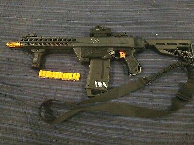 Nerf/WORKER Mod Milsim Style MCX Retaliator (COD MW M13) Foam Short Dart Blaster