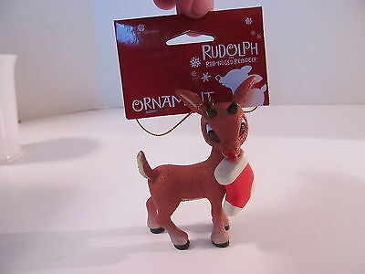 American Greetings Ornament 2012 Rudolph the Red-Nosed Reindeer and Stocking