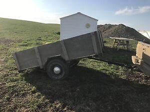 8x6 tilt utility trailer