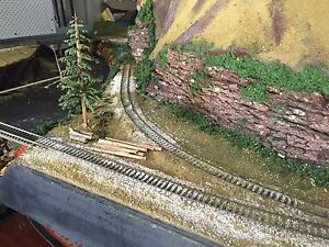 HO train layout Burpengary Caboolture Area Preview