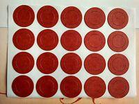 20 Piezas Rojo Aisladores Adhesivas Papel Para 1 X 18650 Baterías -  - ebay.es