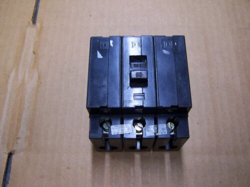SQUARE D 60 AMP CIRCUIT BREAKER 480 VAC 3 POLE EHB34060 (NO FLAWS)
