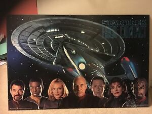 Star Trek first contact poster board for sale Gosnells Gosnells Area Preview