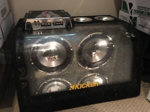 """10"""" sub woofers and amp"""