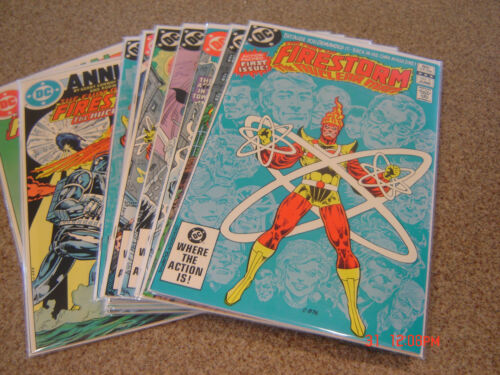 FIRESTORM 1-10 PLUS ANNUALS
