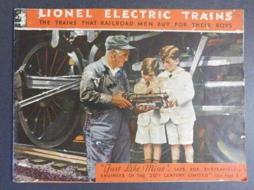 Scarce Original 1931 Lionel Electric Trains Catalog 50 pg. VGC Gary Nelson Coll.