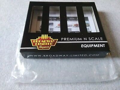 Broadway Limited N H32 Covered Hopper Conrail Red 4-Pack #3171 Empty Box ~TS
