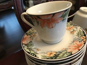 Inhesion Gallery 11 Cup and Saucer sets for coffee guests