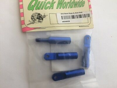 Universal Carbon Tail Boom Support With Blue Aluminum Ends New In Package