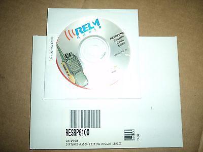 New Relm Resrp6100 Radio Software Rp6100 Rpu6100 Rpv6100 Radio Windows Quick Sh