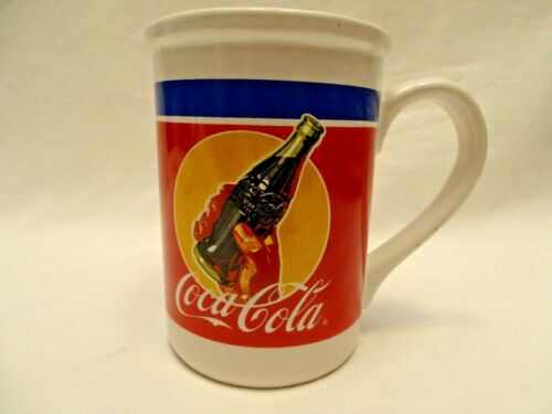 Coca-Cola Coffee Mug By Gibson Dinnerware Microwave & Dishwasher Safe #2