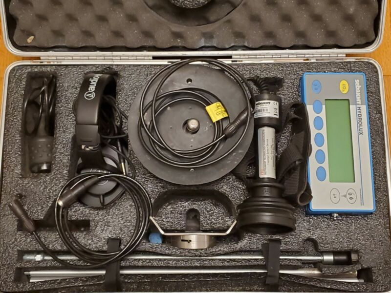 METROTECH HL5000 Slab Water Leak Locator with PAM-H2