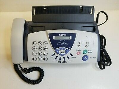 Brother Fax-575 Personal Fax Tested And Works