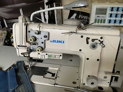 juki lu2210 n7  walking foot industrial sewing machine 9mm stich efka automatic