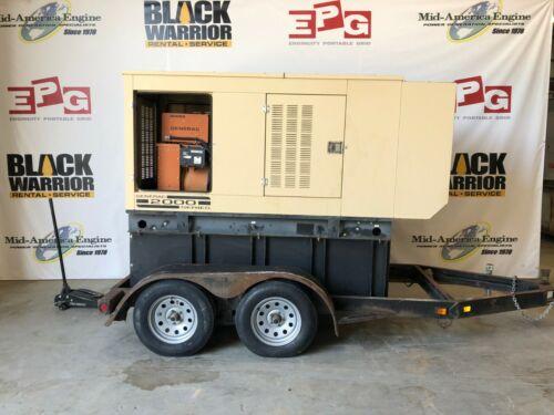Trailerized 30 kW Generac