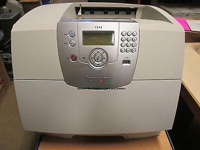 Lexmark T640 A4 Mono Laser Printer 2400-Dpi 35 ppm