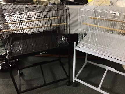 Brand New Flight Cages Available in Black or White.
