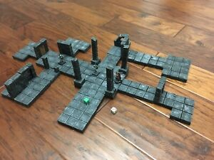 Dungeon Caves Wall Set Dungeons & Dragons Warhammer  Scenery Terrain