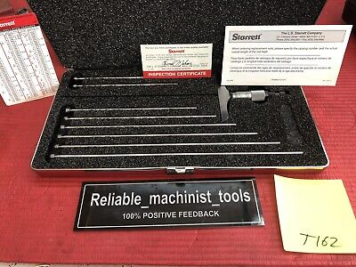 Excellent American Made Starrett Depth Gage 0-9 In .001 Grad T162