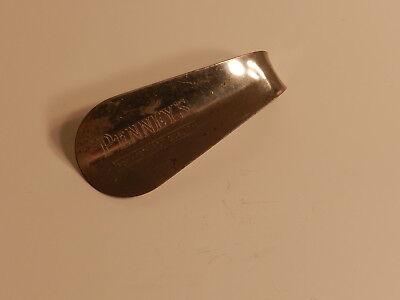 """Vintage JC Penny 3 1/2"""" Metal Shoe Horn"""