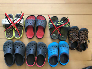 Boys size 3-5 Summer Footwear