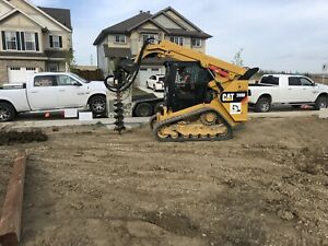 Skid steers and other construction equipment for rent